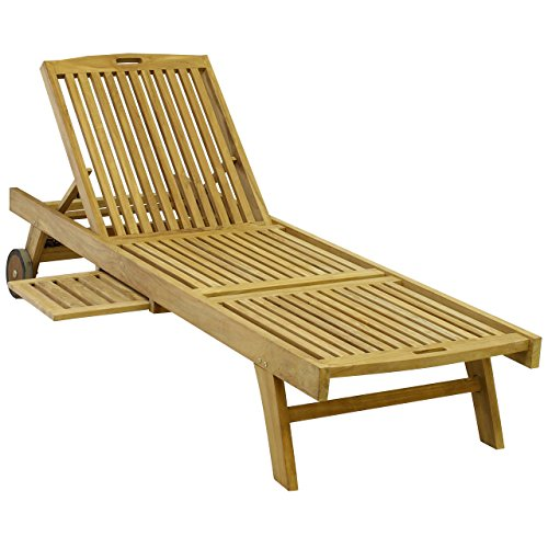 Terrasse Holz Witterungsbeständig ~ Bequeme Teak Sonnenliege aus hochwertigem Teakholz kaufen