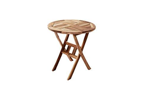 SAM® Teak Holz Balkontisch Gartentisch Romana