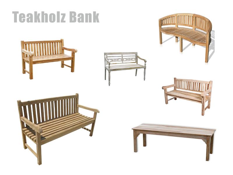 Teak Gartenmobel Venlo : Teak Bank für Garten oder Terrasse kaufen